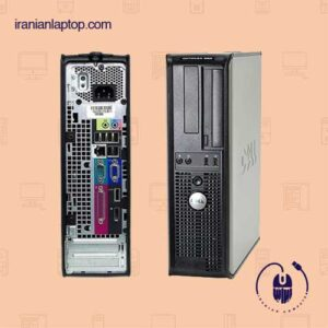 کیس دست دوم DELL Optiplex 780  رم ۲g هارد ۱۶۰g