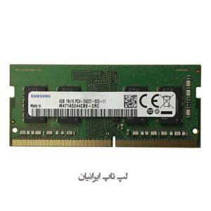 رم لپ تاپ سامسونگ ۴ گیگ DDR4