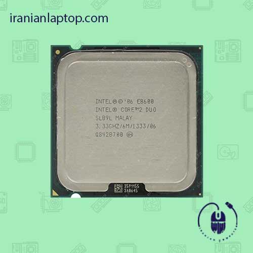 پردازنده CPU اینتل Core2 Duo E8600 3.33GHz 6MB LGA 775 Wolfdale TRAY CPU