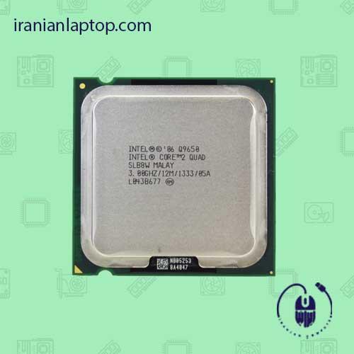 پردازنده CPU اینتل Core2 Quad Q9650 3.0GHz 12MB LGA-775 Yorkfield TRAY CPU