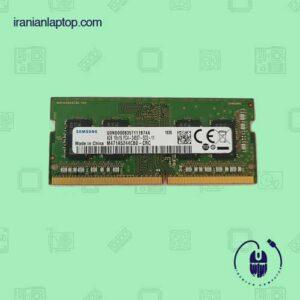 رم لپ تاپ سامسونگ با ظرفیت ۴گیگابایت DDR4