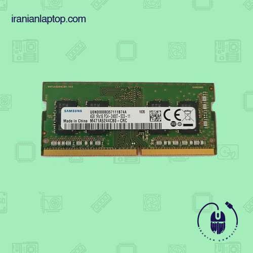 رم لپ تاپ سامسونگ با ظرفیت 4گیگابایت DDR4