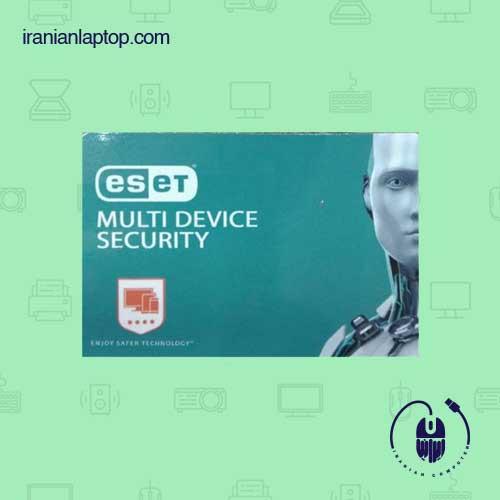 لایسنس یکساله انتی ویروس اورجینال Eset internet securityدو کاربره