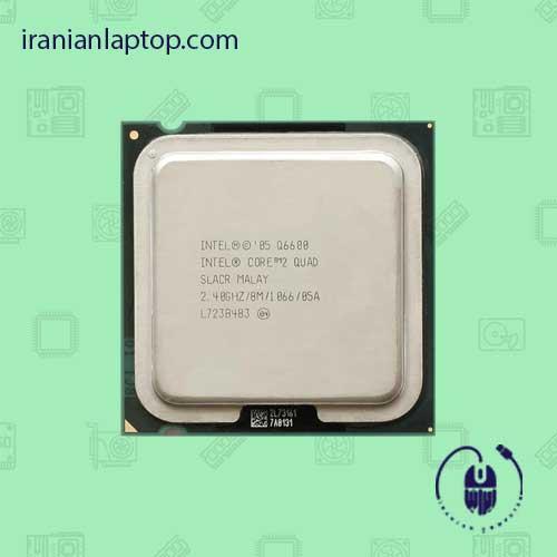 پردازنده CPU اینتل Core2 Quad Q6600 2.40GHz LGA 775 TRAY CPU