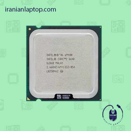 سی پی یو اینتل Core2 Quad Q9400 2.66GHz 6MB LGA-775 Yorkfield TRAY CPU