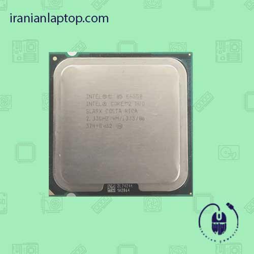 پردازنده تری اینتل مدل E6550 با فرکانس 2.33 گیگاهرتز