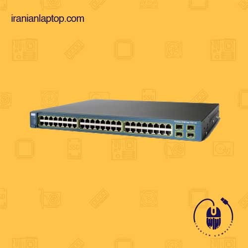 سوئیچ Cisco catalyst c3560 poe 48 ps-s