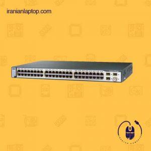 سوئیچ شبکه ۴۸ پورت سیسکو Cisco ws-c3750 48TS-S