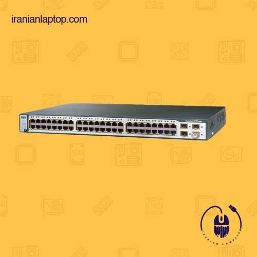 سوئیچ شبکه 48 پورت سیسکو Cisco ws-c3750 48TS-S