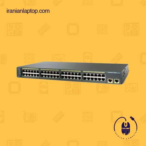 سوئیچ شبکه سیسکو 48 پورت ws-c2960-48tt-l 48-port
