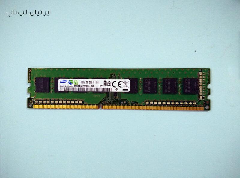 رم پی سی سامسونگ ۴g DDR3 12800U
